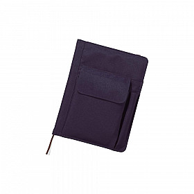 LIHIT LAB Smart Fit Cover Notebook - A5 - Blauw