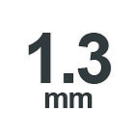 1.3 mm