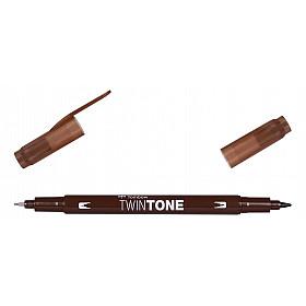Tombow TwinTone Marker - Chocolate