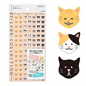Midori Sticker Collection - Cat Feelings