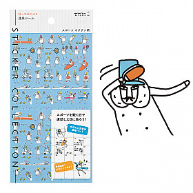 Midori Sticker Collection - Sports