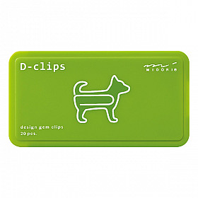 Midori D-Clips - Animal Series - Dog (New)