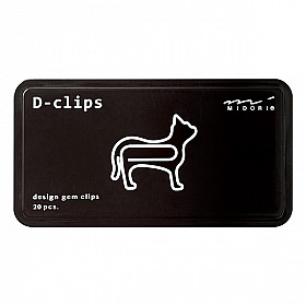 Midori D-Clips - Animal Series - Cat (New)