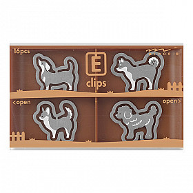 Midori E-Clips - Dogs (Set van 16)
