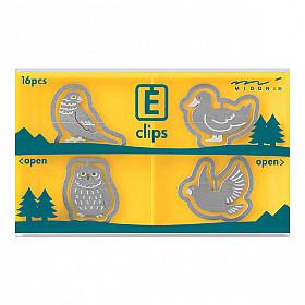 Midori E-Clips - Birds (Set van 16)