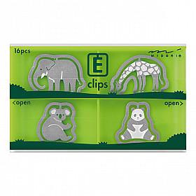 Midori E-Clips - Zoo (Set van 16)