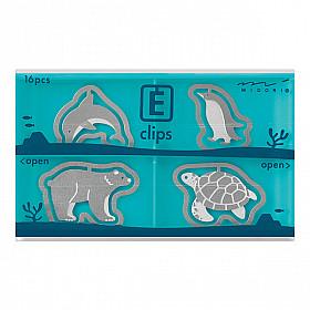 Midori E-Clips - Aquarium (Set van 16)