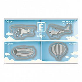 Midori E-Clips - Aviation (Set van 16)