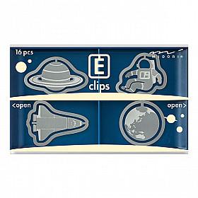 Midori E-Clips - Space (Set van 16)