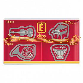 Midori E-Clips - Musical Instruments (Set van 16)