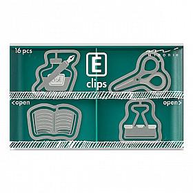 Midori E-Clips - Stationery (Set van 16)