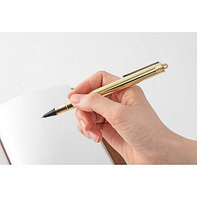 TRAVELER'S Company Brass Rollerball Pen (2020 version)