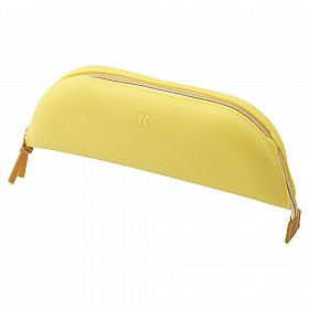 LIHIT LAB Bloomin Tray Pen Etui - Maat L - Lemon Yellow