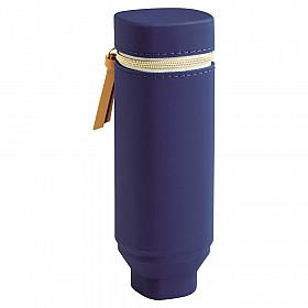 LIHIT LAB Bloomin Stand Pen Etui - Navy Blue
