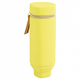 LIHIT LAB Bloomin Stand Pen Etui - Lemon Yellow