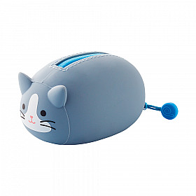 LIHIT LAB Punilabo Nekorobi Lying Pouch - Grey Cat