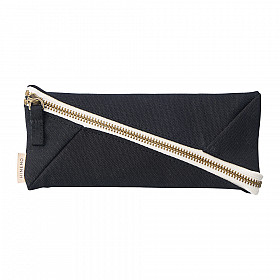 LIHIT LAB HINEMO Wide Open Pen Pouch - Black