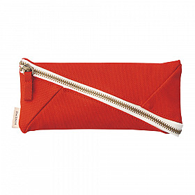 LIHIT LAB HINEMO Wide Open Pen Pouch - Red
