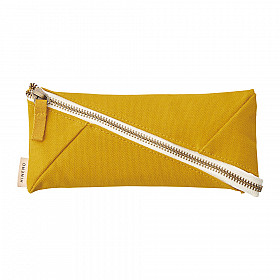 LIHIT LAB HINEMO Wide Open Pen Pouch - Yellow