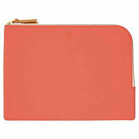 LIHIT LAB Bloomin Flat Pouch - A5 Formaat - Poppy Red