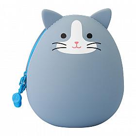 LIHIT LAB Punilabo Egg Pouch - Big Size - Grey Cat
