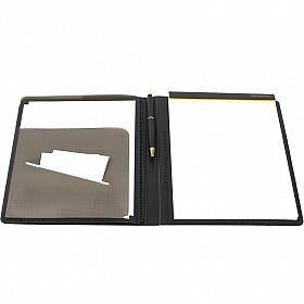 Maruman Mnemosyne Notepad met Houder + 5 Pockets - A4 - Geruit - 70 pagina's