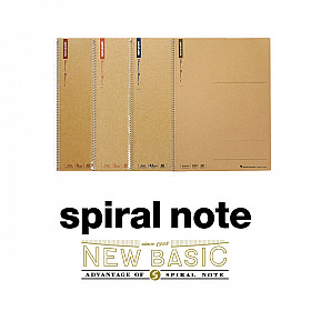 Maruman Spiral Note New Basic