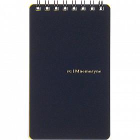 Maruman Mnemosyne Memo Pad - B7 Formaat met Ringband - Zwart