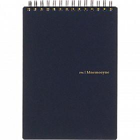 Maruman Mnemosyne Memo Pad - B6 Formaat met Ringband - Zwart