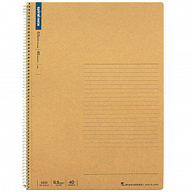 Maruman Spiral Note Basic Notebook - Gelinieerd - A4