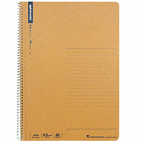 Maruman Spiral Note Basic Notebook - Gelinieerd - B5