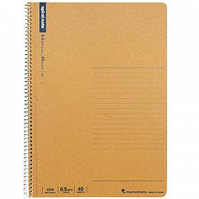 Maruman Spiral Note Basic Notebook - Gelinieerd - B5