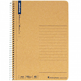 Maruman Spiral Note Basic Notebook - Gelinieerd - B6
