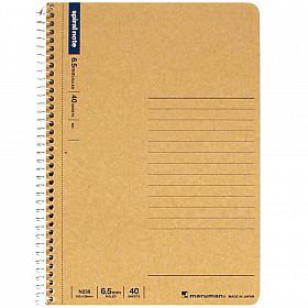 Maruman Spiral Note Basic Notebook - Gelinieerd - B6