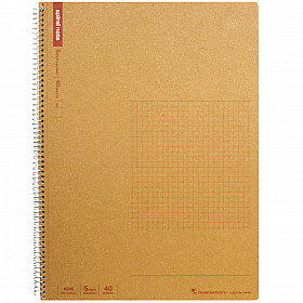 Maruman Spiral Note Basic Notebook - Geruit - A4