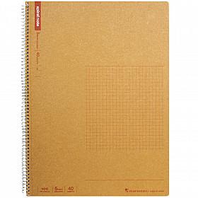 Maruman Spiral Note Basic Notebook - Geruit - A4