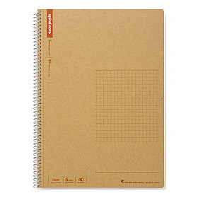 Maruman Spiral Note Basic Notebook - Geruit - B5