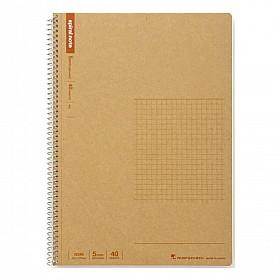 Maruman Spiral Note Basic Notebook - Geruit - B5
