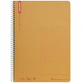 Maruman Spiral Note Basic Notebook - Geruit - A5