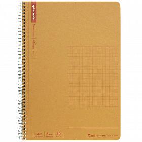 Maruman Spiral Note Basic Notebook - Geruit - A5