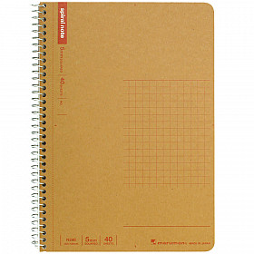 Maruman Spiral Note Basic Notebook - Geruit - B6