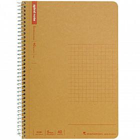 Maruman Spiral Note Basic Notebook - Geruit - B6