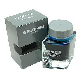 Platinum Mixable Ink Vulpen Inkt - 20 ml - Aqua Blue