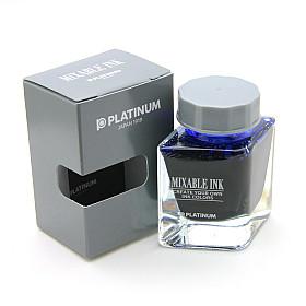 Platinum Mixable Ink Vulpen Inkt - 20 ml - Aurora Blue