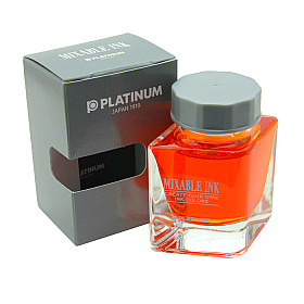 Platinum Mixable Ink Vulpen Inkt - 20 ml - Sunny Yellow