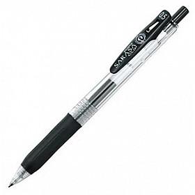 Zebra Sarasa Clip Gel Inkt Pen - Fijn - Zwart