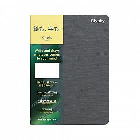 Maruman Glyphy Notebook - A6 - Art Paper - 24 Pagina's
