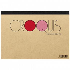 Maruman Croquis Pad - A5 - Cream Paper - 60 Pagina's