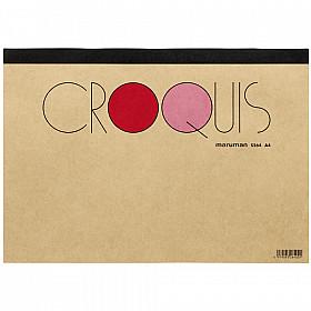 Maruman Croquis Pad - A4 - Cream Paper - 60 Pagina's