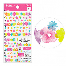 Midori Sticker Collection - Flowers